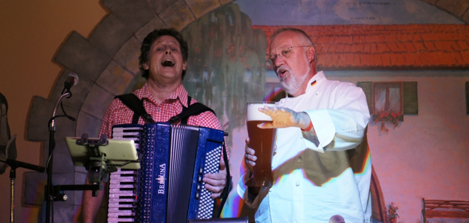 Polka and Gemütlichkeit at Hollerbach's. Thursday - Sunday in Sanford Florida